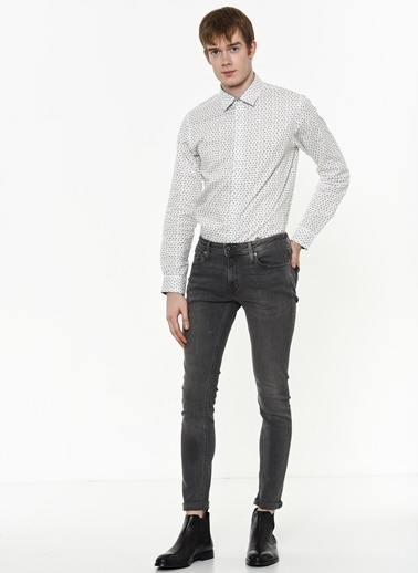 Jack & Jones Jean Pantolon | Liam - Super Skinny Gri